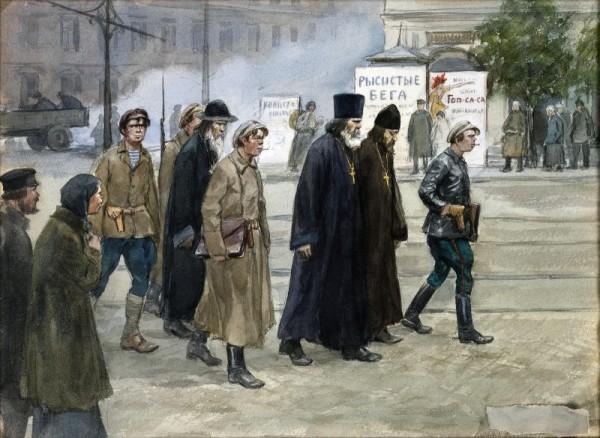 конвоирование священников