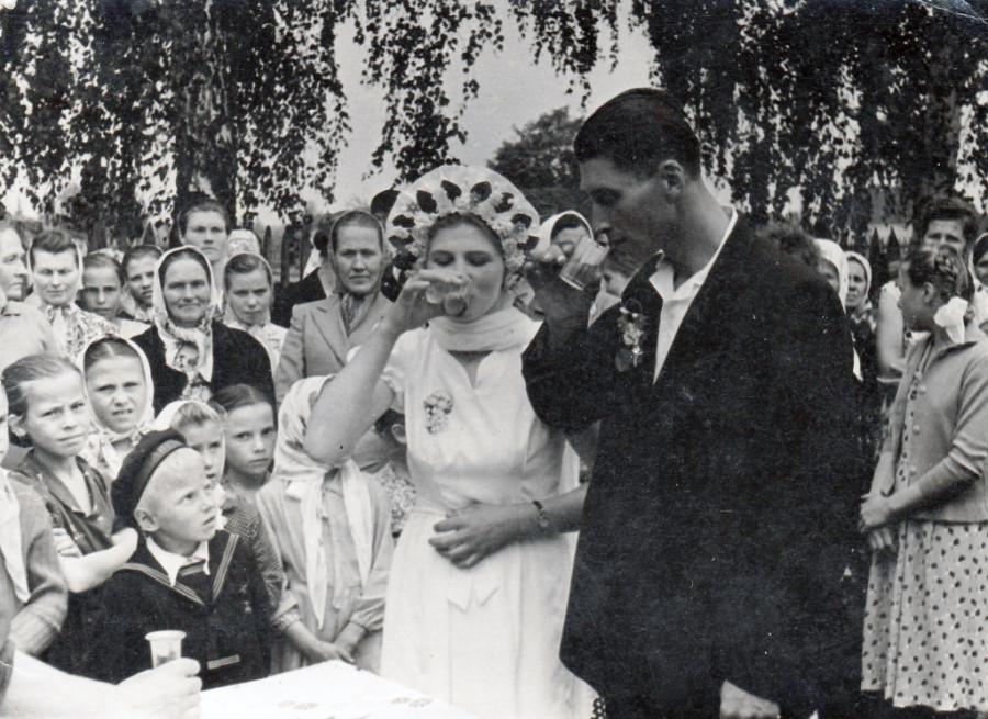 Белорусская свадьба  1940–1950-е гг Слуцкий р-н Минская обл (2)