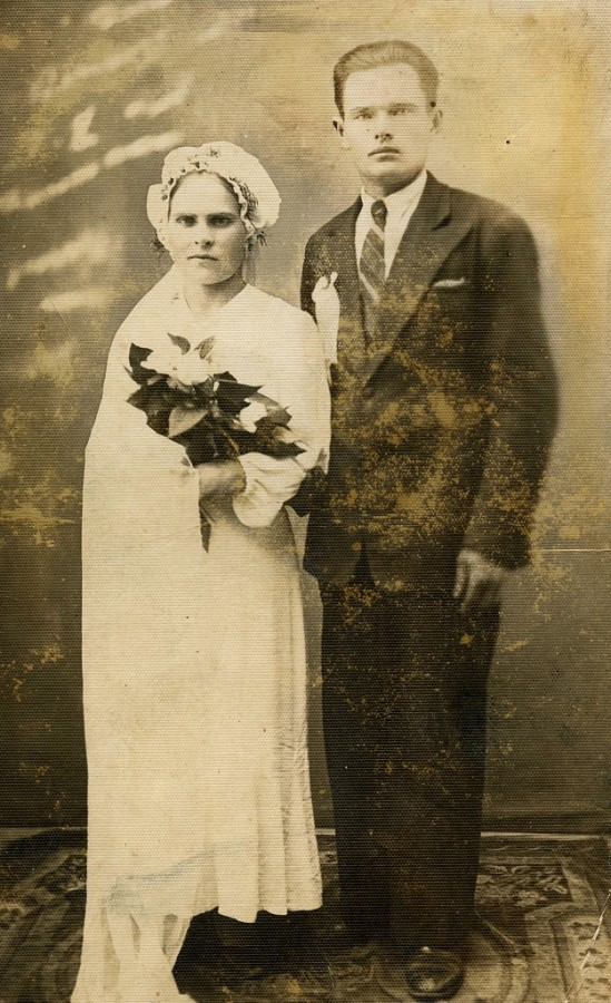 Белорусская свадьба 1936 г Будслав Мядельский р-н Минская обл. (2)