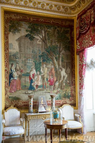 брюссельские шпалеры 18 века Посвящение Дон Кихота в рыцари