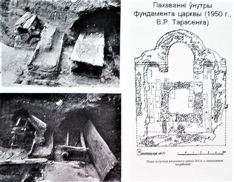 минское замчище раскопки 1948 г