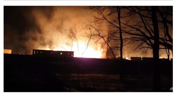 пожар в гомеле2
