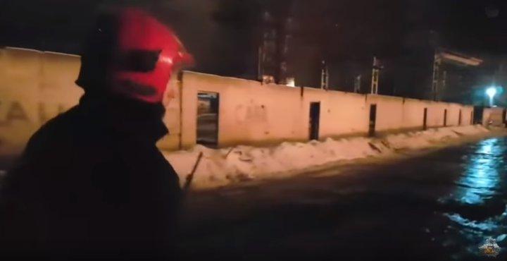 спижженая фотка пожар в гомеле