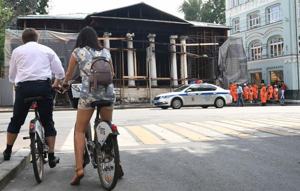 4 августа  2018 пожар музея тургенева