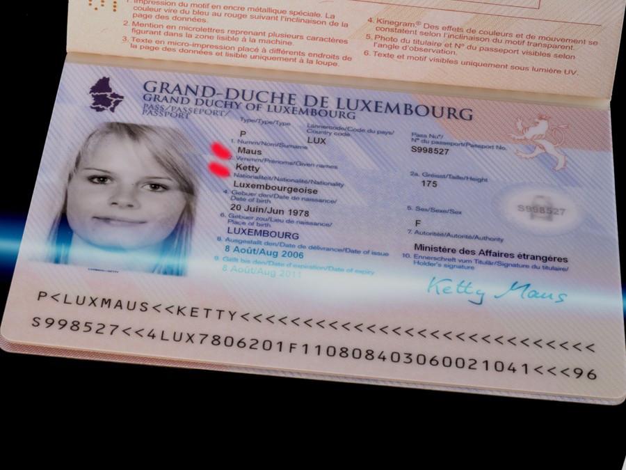 паспорт Люксембурга2