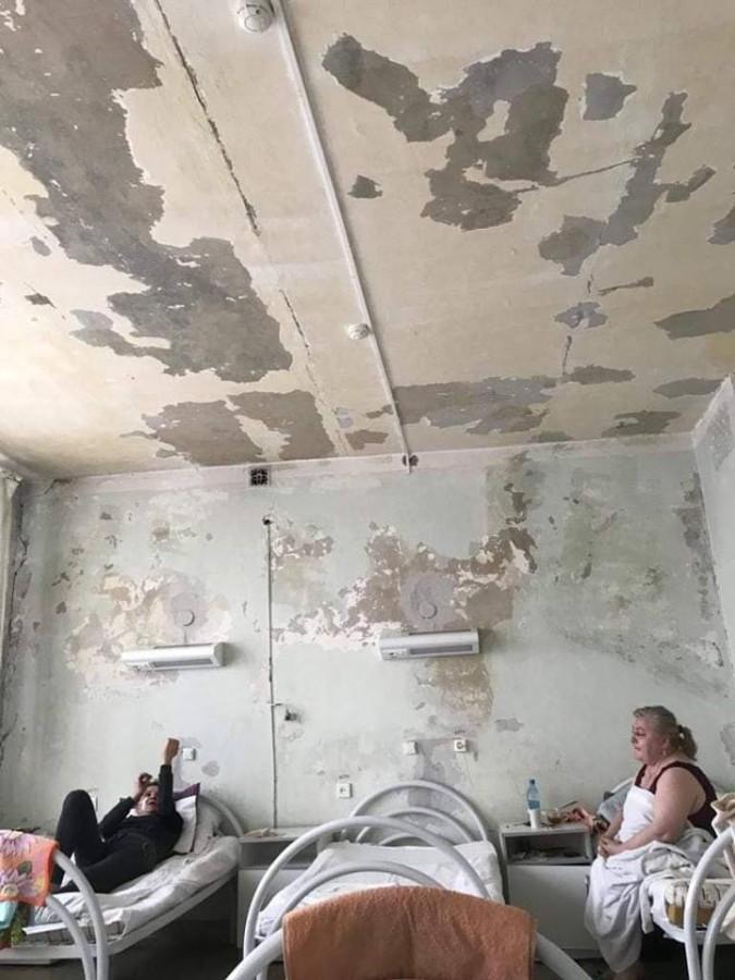 Палата в 20-й больнице Красноярска. 2019 год
