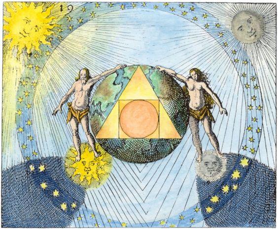 земля в иллюминаторе