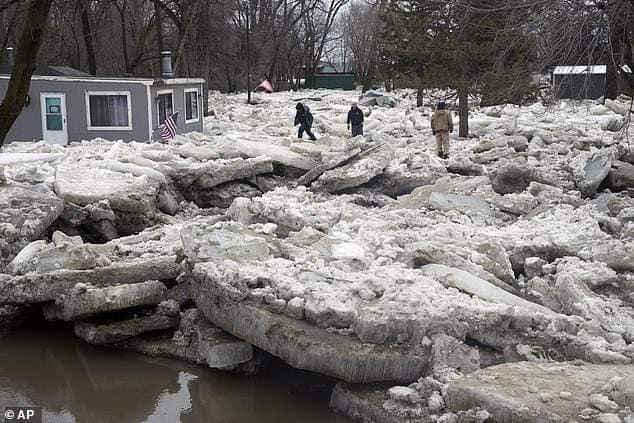 Flooding Nebraska that started March 13, 2019-4