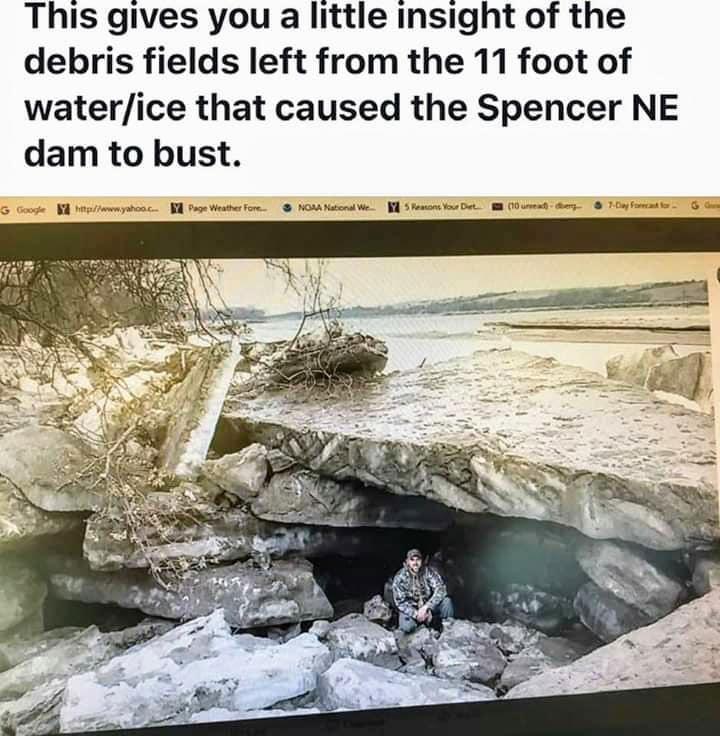 Flooding Nebraska that started March 13, 2019-10