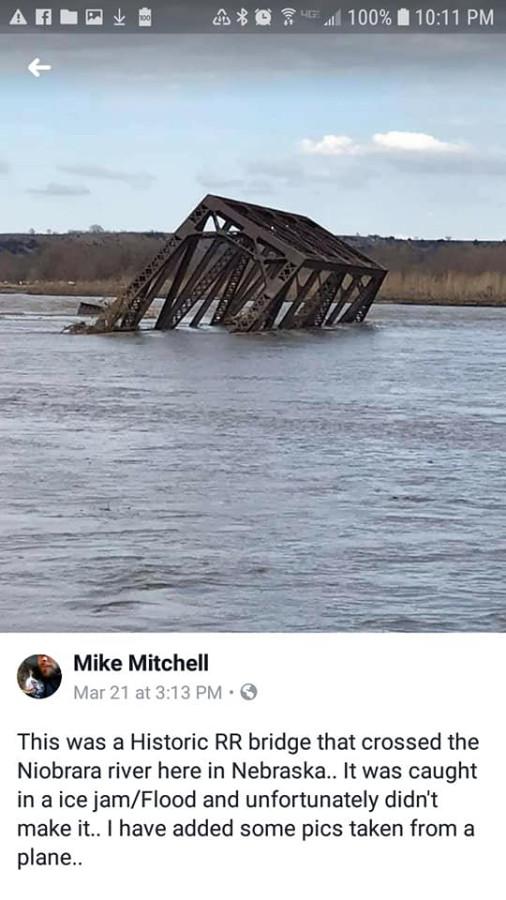 Flooding Nebraska that started March 13, 2019-11