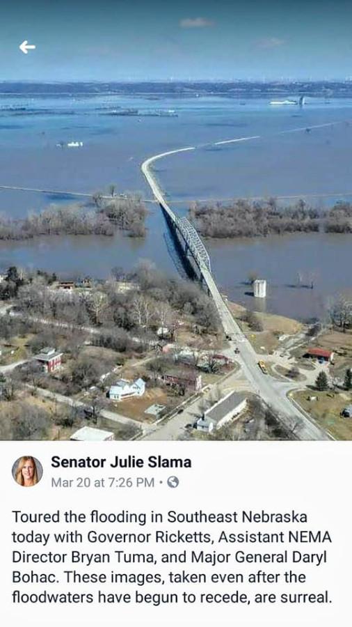 Flooding Nebraska that started March 13, 2019-13