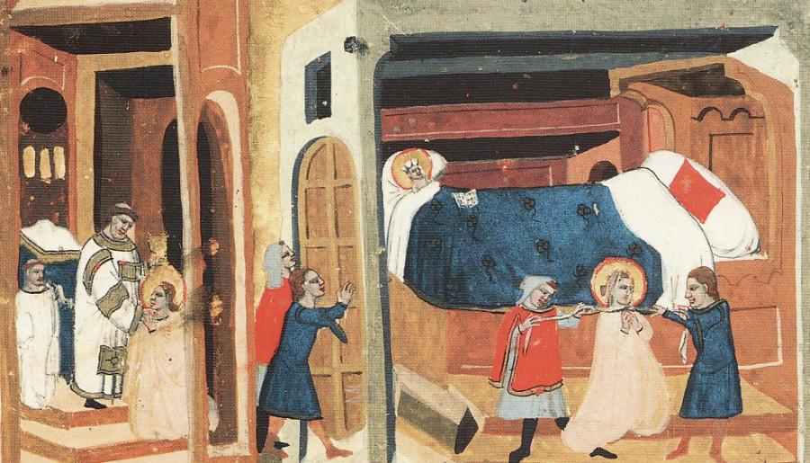 убийство святой людмилы