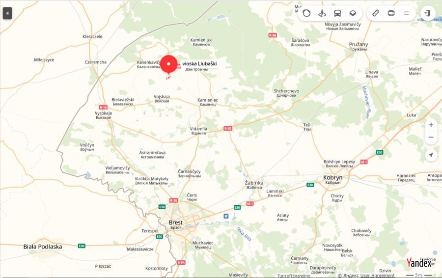 деревня Любашки