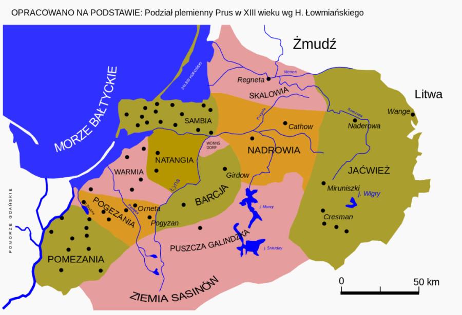 племена пруссов 13 век