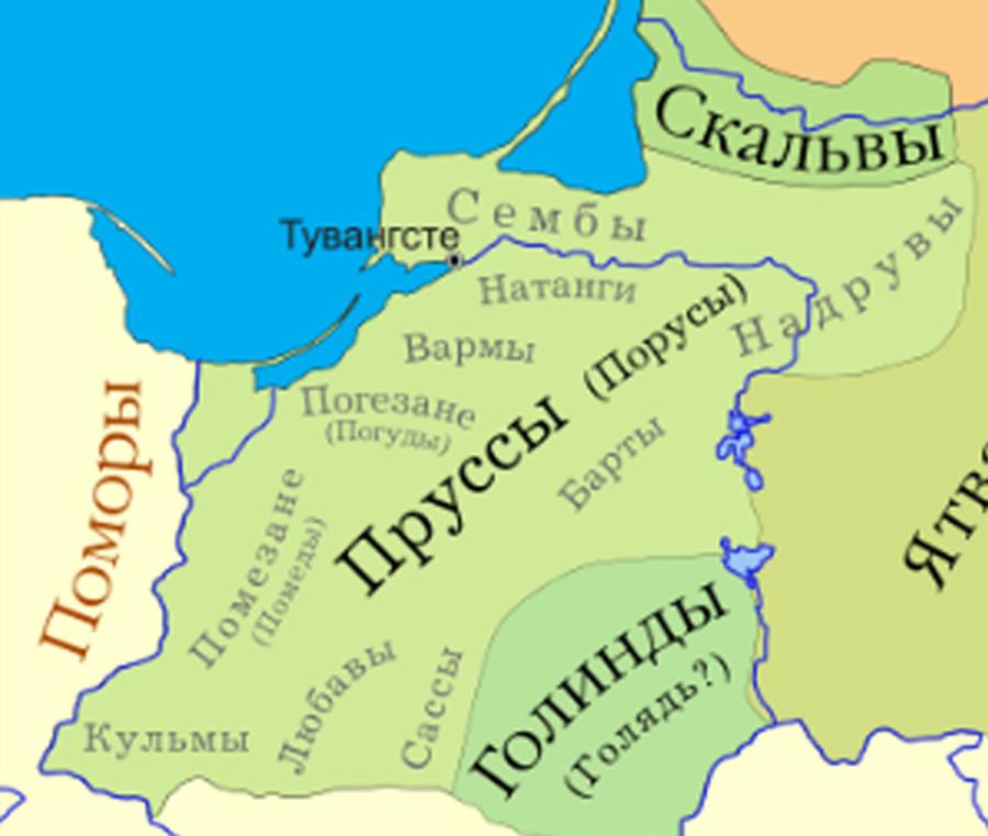 племена пруссов 13 век-2