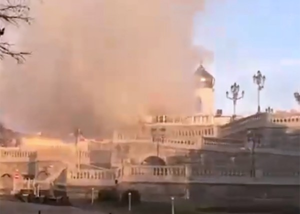 пожар в храме христа спасителя11 апреля