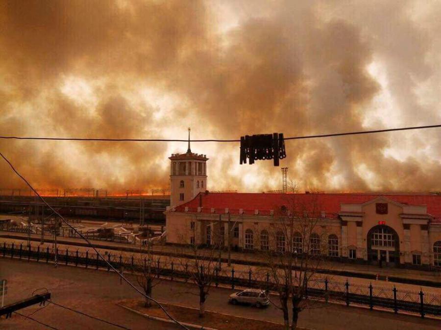 забайкальские пожары апрель 2019