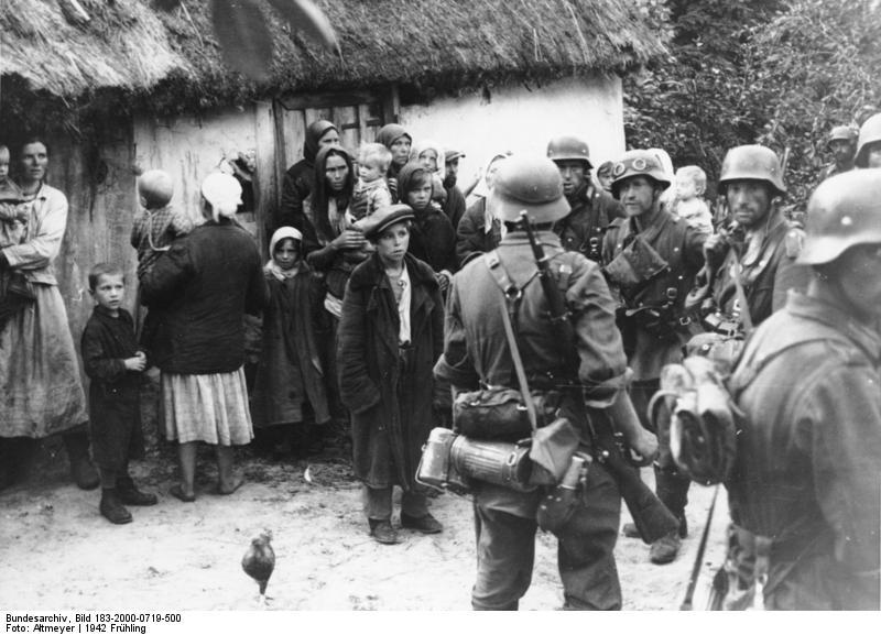 фашисты и цыгане