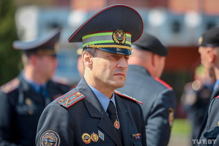 Начальник управления ГАИ УВД Могилевского облисполкома Михаил Невмержицкий