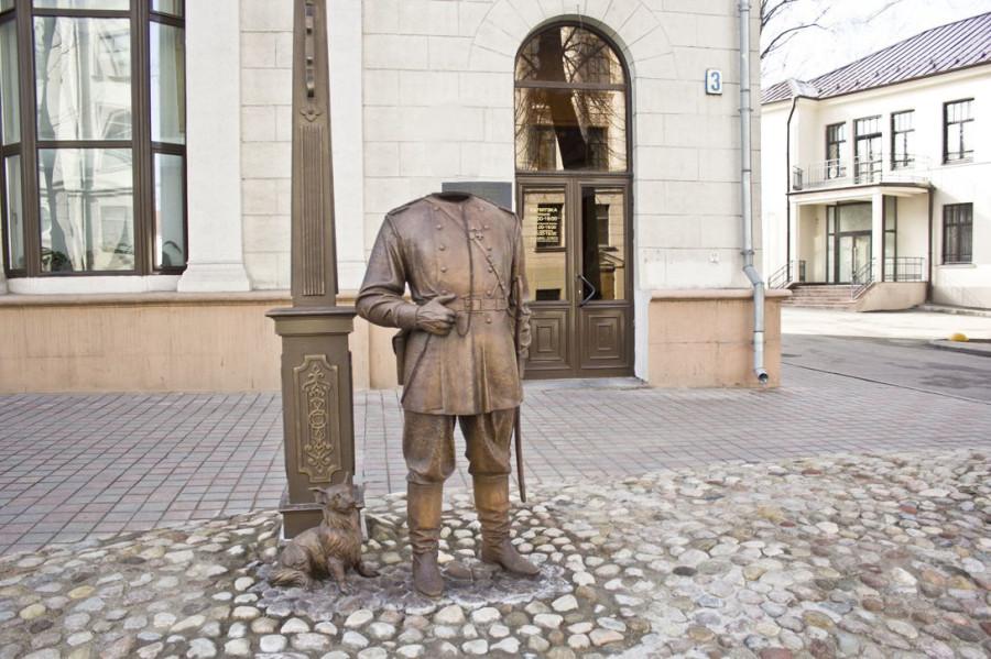 городовой без головы