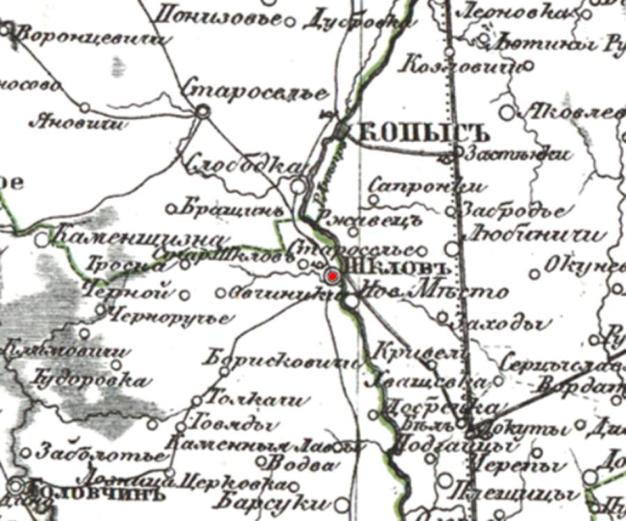 Шклов карта 2