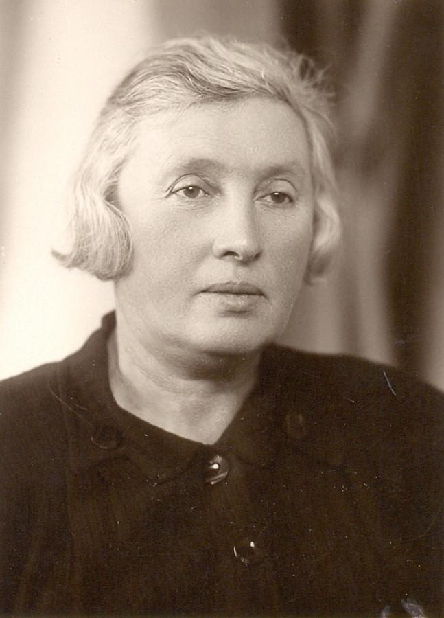 1920-е. Ривинсон Ида Моисеевна, работник Лепельского укома комсомола