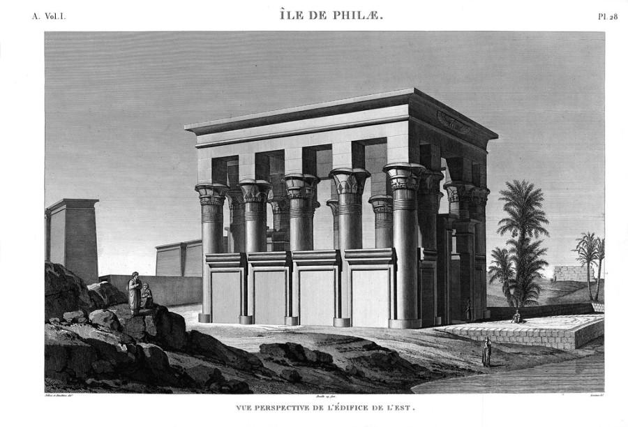 египетская трансформаторная станция