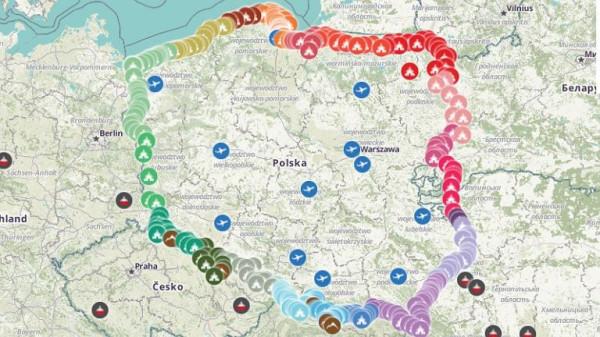 розарий карта
