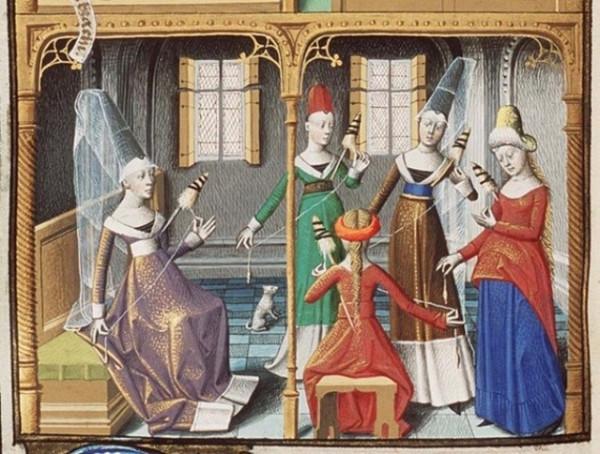 велфикатио средневековье вуаль