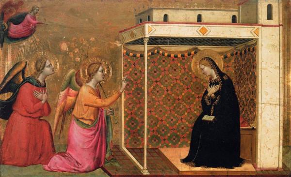 14 век флорентиец Бернардо Дадди