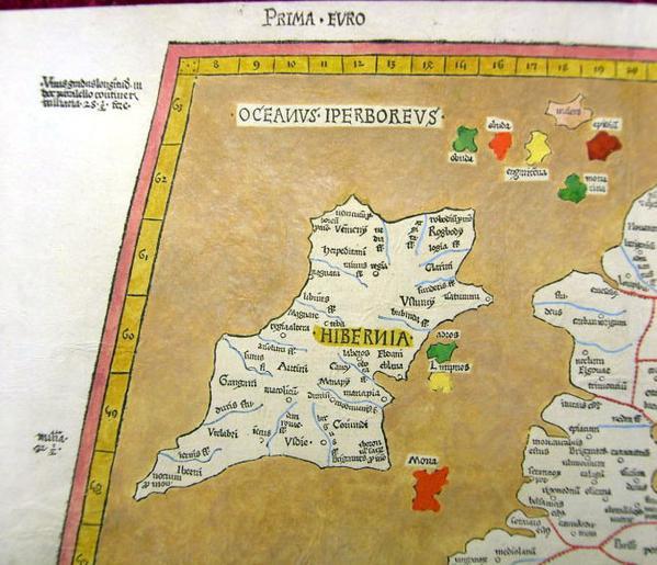 птолемей ирландия 15 век