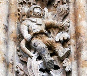 подделка космонавта в саламанке