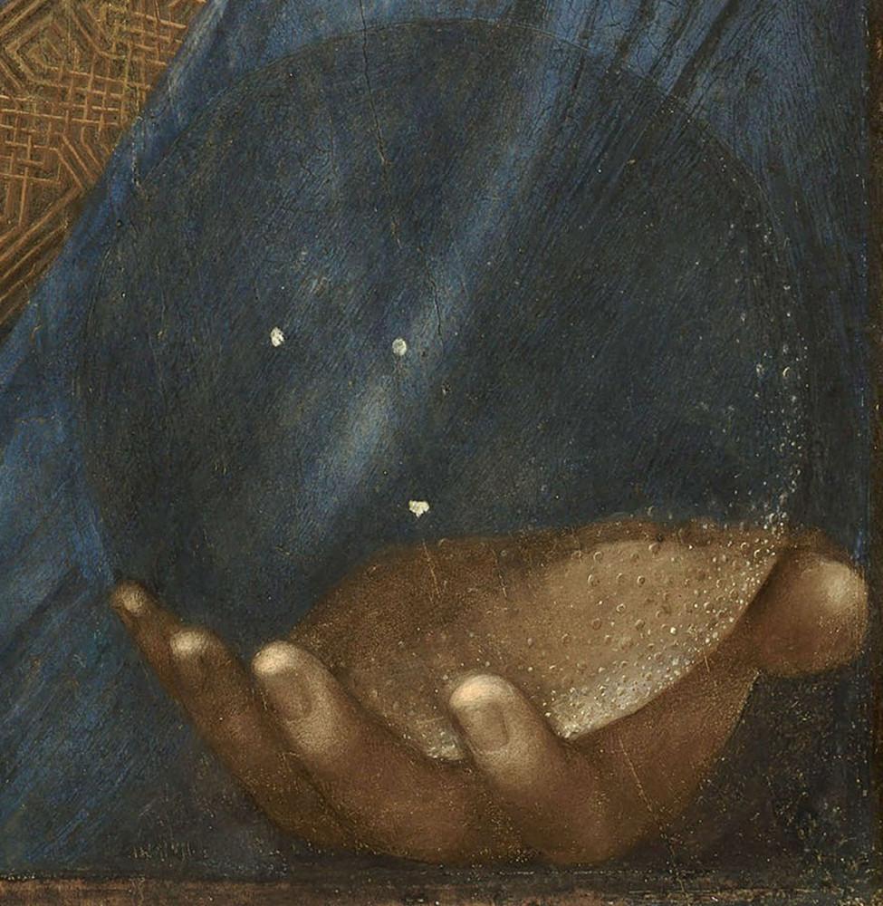 фейковый леонардо деталь