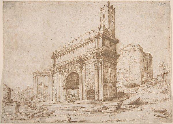 арка септимуса севера 1500