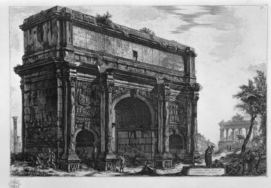 арка септимуса севера 1756