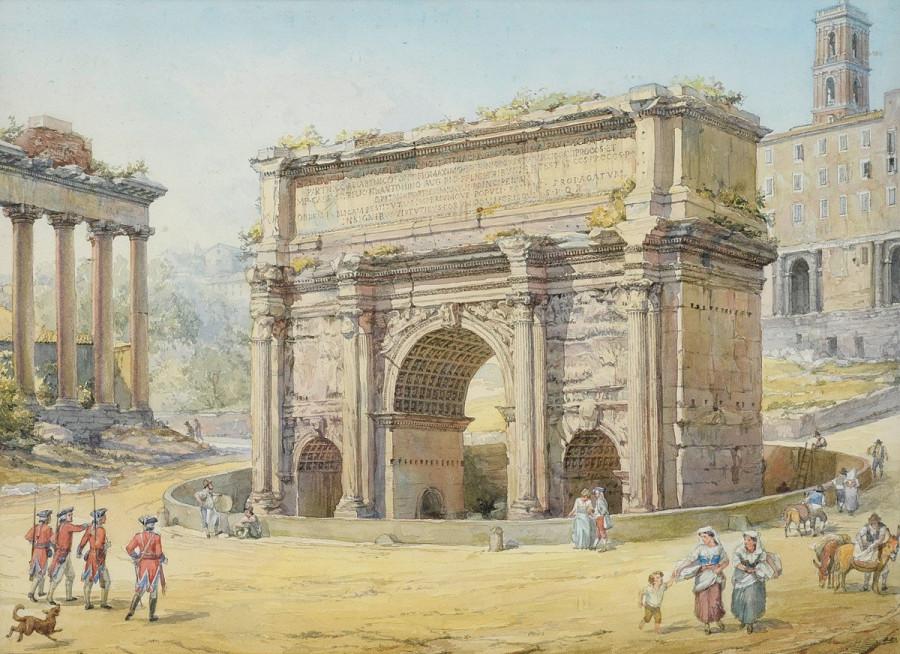 септимус север арка 19 век
