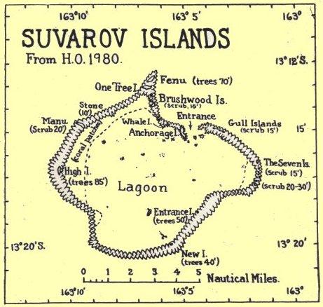 suvarov island