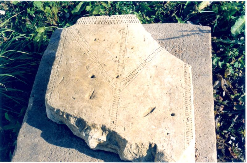 надгробие из лужицкого монастыря
