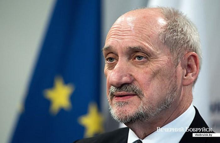 министра обороны Польши Антония Мачеревича
