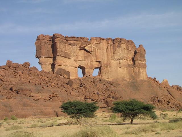 оазис Guelta d'Archei 17