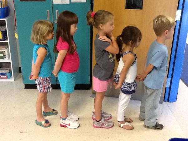 Kindergarten Beginning of the Year 078