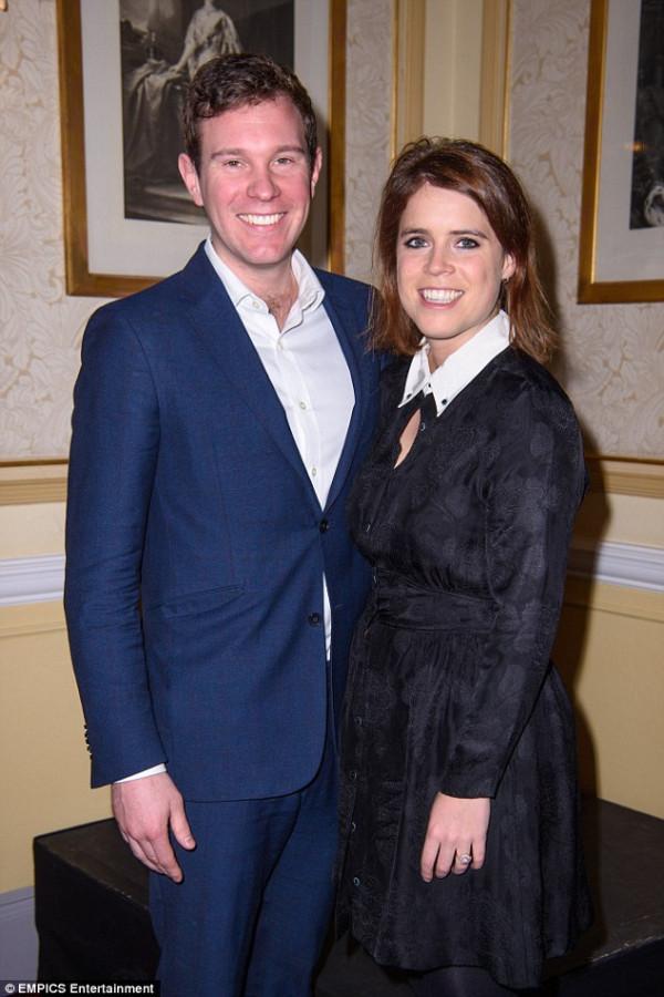 Принцесса Евгения с женихом Джеком Бруксбенком посетили благотворительный концерт в Альберт-холле