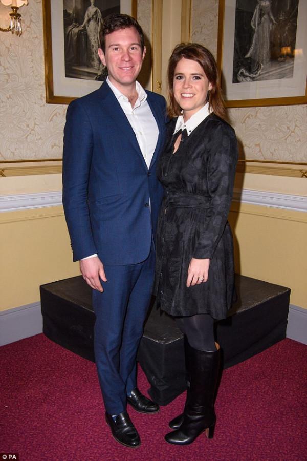 Принцесса Евгения с женихом Джеком Бруксбенком посетили благотворительный концерт в Альберт-холле2