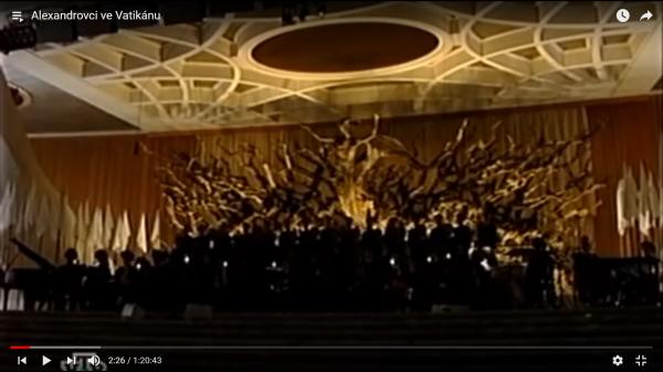 хор александрова в ватикане0011