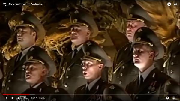 хор александрова в ватикане0-43-01