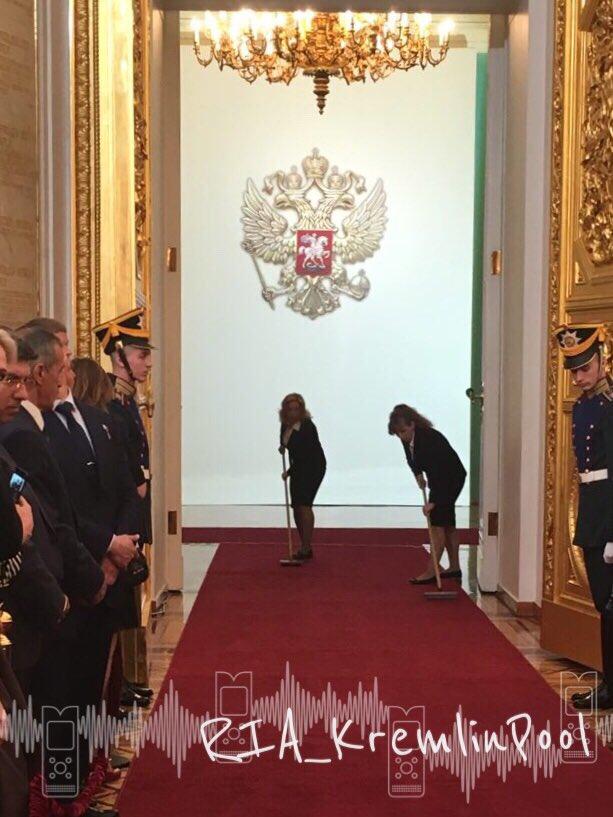уборщицы в кремле