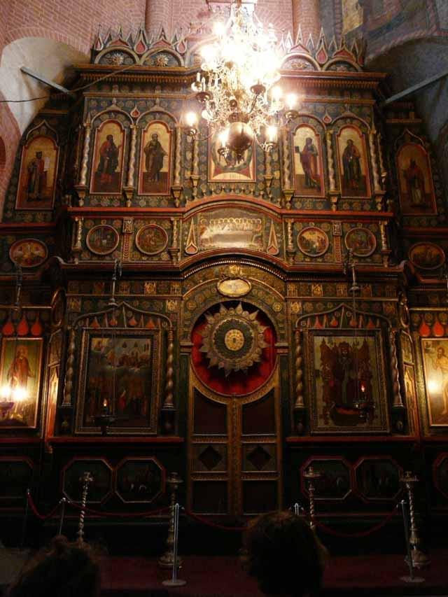 иконостас храма василия Блаженного