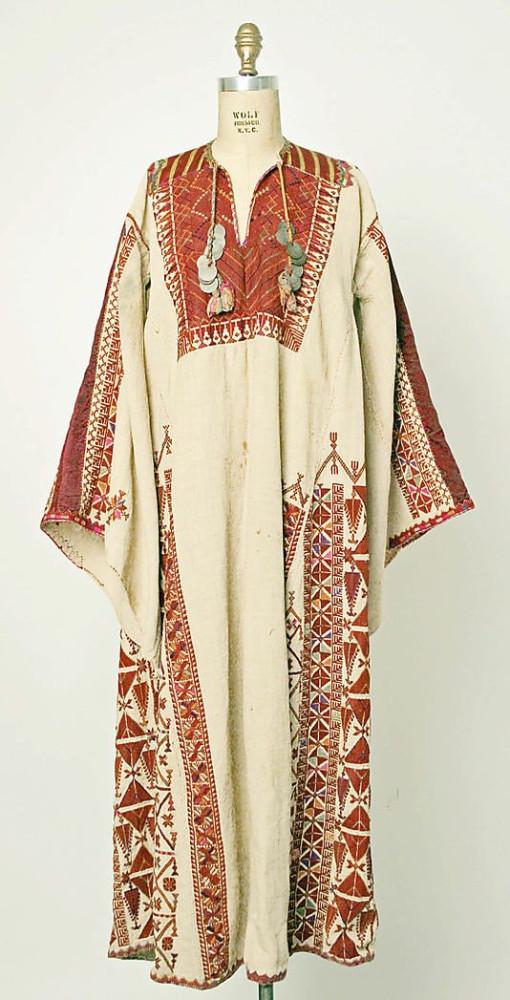 палестинская одежда2 1900