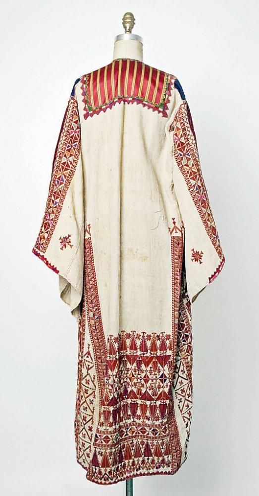 палестинская одежда 1900