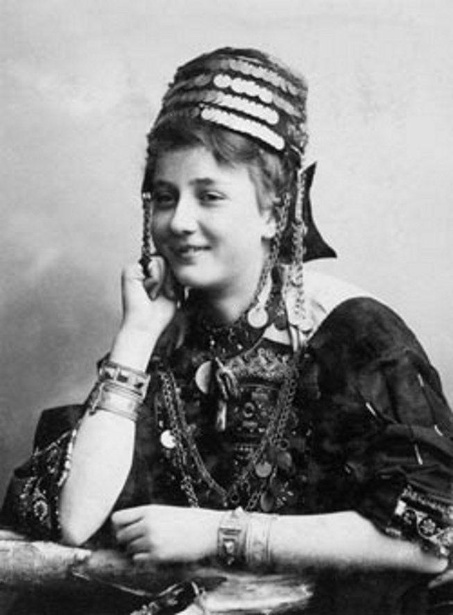 палестинская девушка 1900